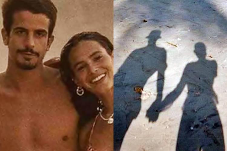 Bruna Marquezine posta foto de mãos dadas com homem misterioso e fãs especulam: ''É o Enzo''  - Foto: Reprodução/ Instagram/ Montagem Área VIP