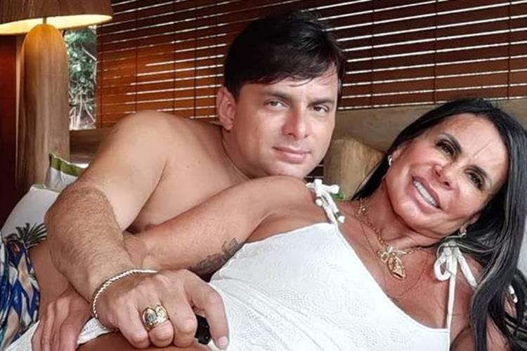 Gretchen surge em foto íntima com o marido e faz revelação picante: ''Fazemos gostoso'' - Foto: Reprodução/ Instagram