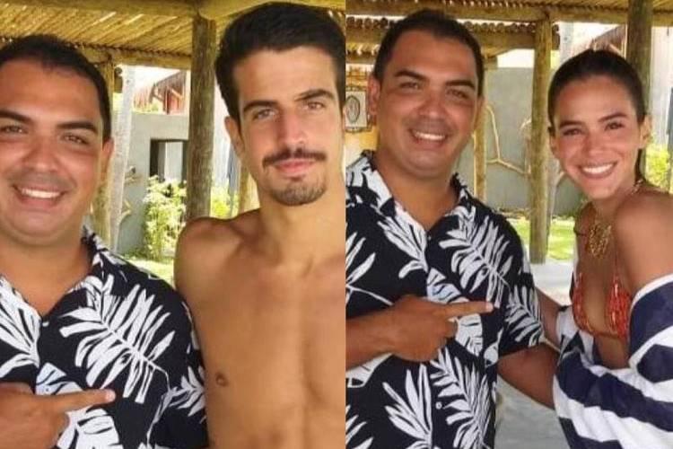 Fã flagra Bruna Marquezine e Enzo Celulari juntos na praia, confira fotos! - Foto: Reprodução/ Instagram