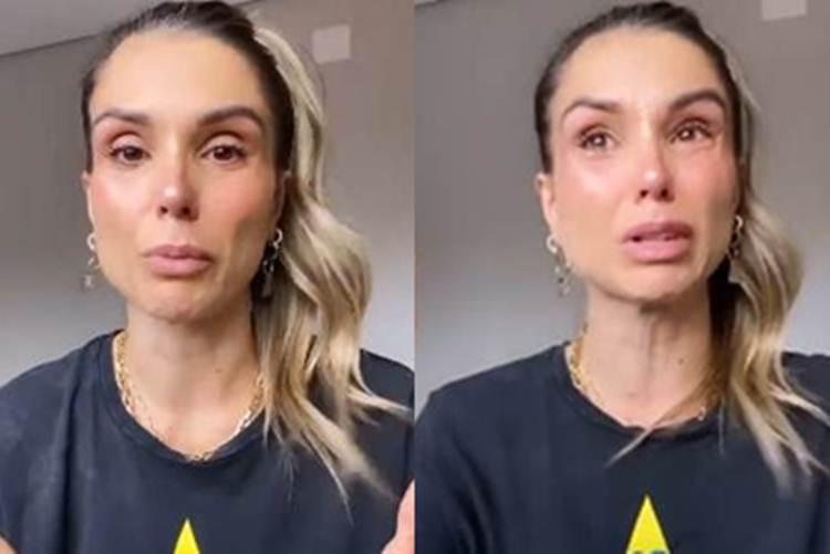 Ex-BBB Flávia Viana surge aos prantos e pede desculpas por campanha feita para Governo Federal