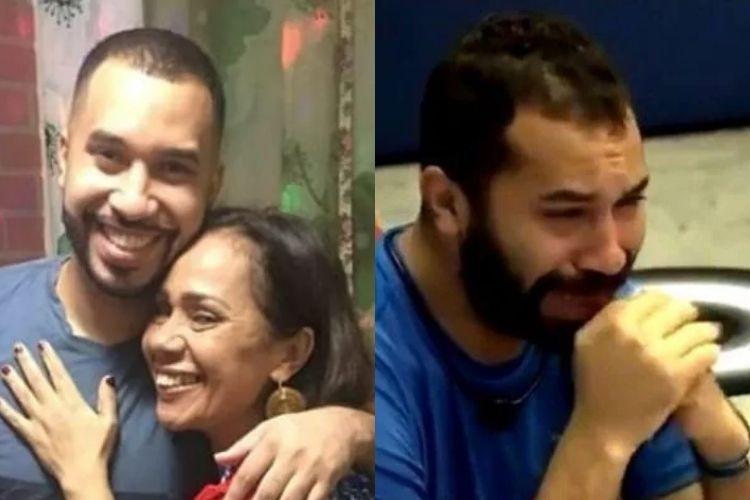 Gilberto e a mãe - Reprodução: Instagram