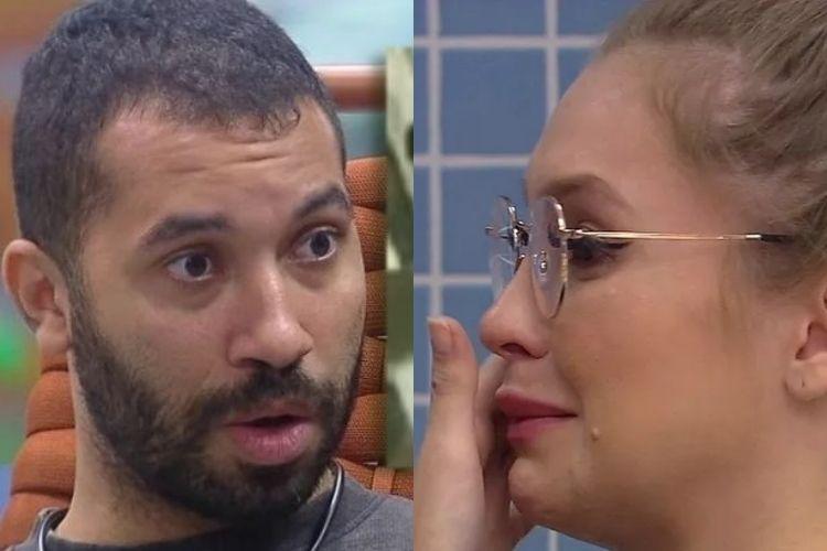 Gilberto e Carla Diaz - Reprodução: TV Globo