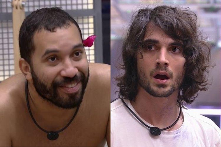 Gilberto e Fiuk - Reprodução: TV Globo