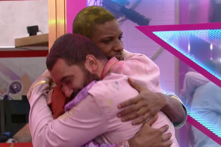 Gilberto e Lucas Penteado/ Reprodução Globo