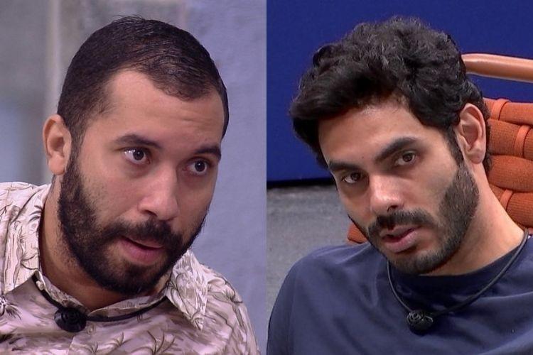 Gilberto e Rodolffo - Reprodução: TV Globo