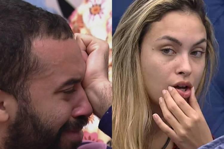 BBB21: Gilberto acredita que Sarah será a próxima eliminada do reality - ''Quero estar errado'' - Foto: Reprodução/ Rede Globo/ Montagem Área VIP