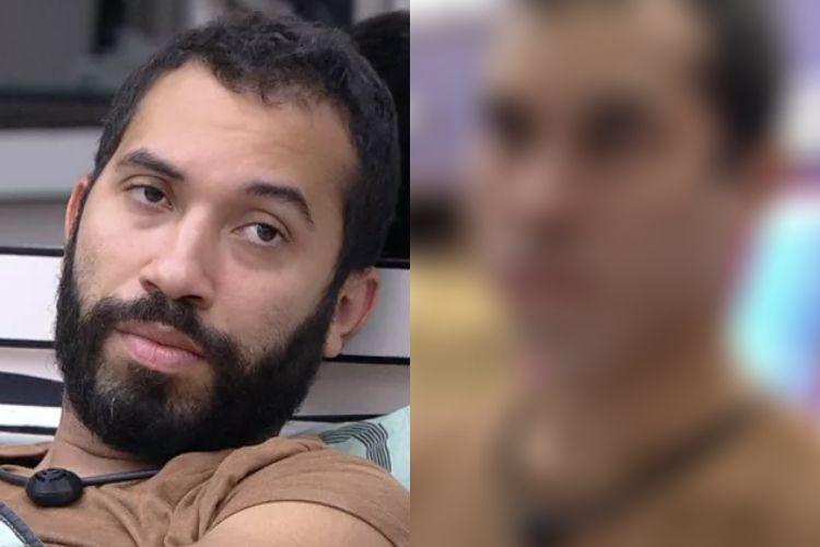 Gilberto e seu novo visual - Reprodução: TV Globo