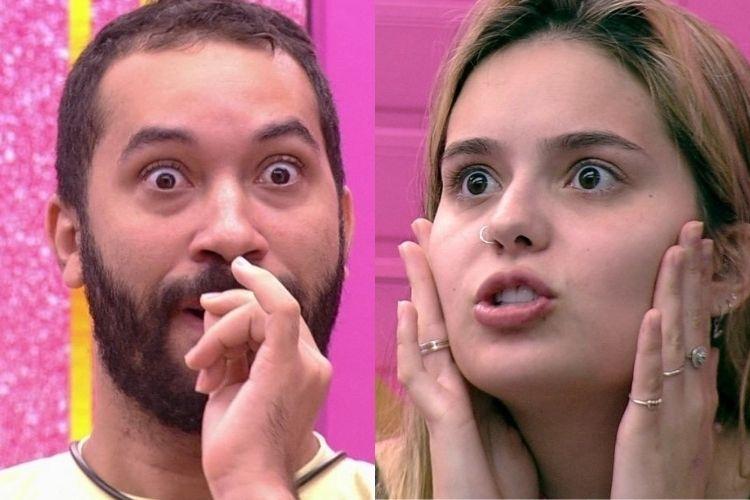 Gilberto e Viih Tube - Reprodução: TV Globo