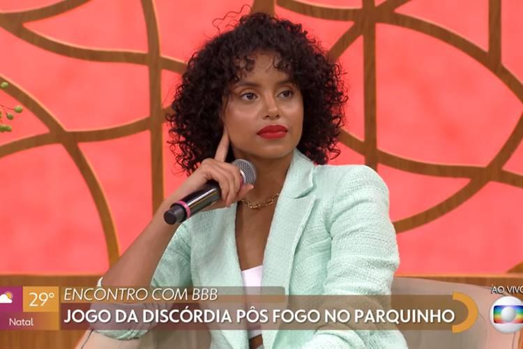 Gleici Damasceno/ Reprodução Globo
