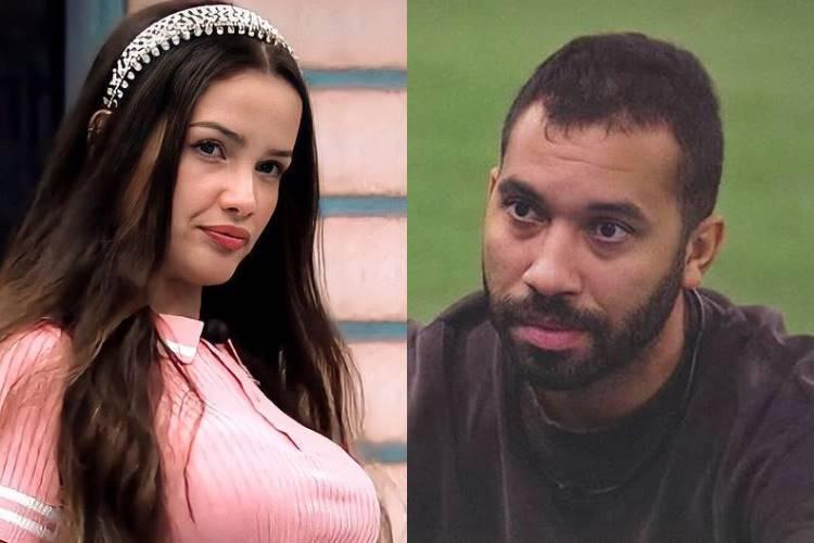 """BBB21: Juliette diz que relação com Gilberto está muito ''difícil'' e dispara - """"Agora é cada um por si'' - Foto: Reprodução/ Rede Globo/ Montagem Área VIP"""
