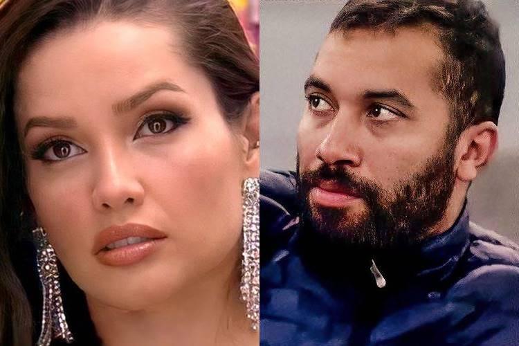 BBB21: Em nova briga com Gilberto, Juliette dispara - ''Não quero discutir com você, mas se você quiser vai ter'' - Foto: Reprodução/ Rede Globo/ Montagem Área VIP