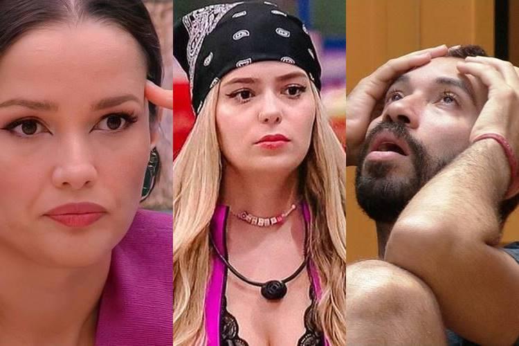 BBB21: Viih Tube conversa com Juliette e fica com raiva de Gilberto - ''Intrometido, chato'' - Foto: Reprodução/ Rede Globo/ Montagem Área VIP
