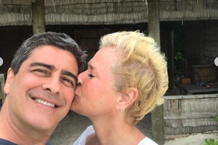 Junno Andrade e Xuxa Meneghel foto reprodução Instagram