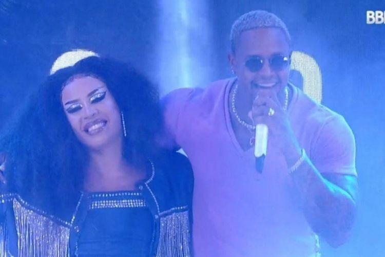 Leo Santana e Gloria Groove - Reprodução: TV Globo