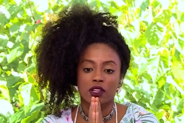 Lumena, em entrevista ao 'Mais Você' - Reprodução: TV Globo