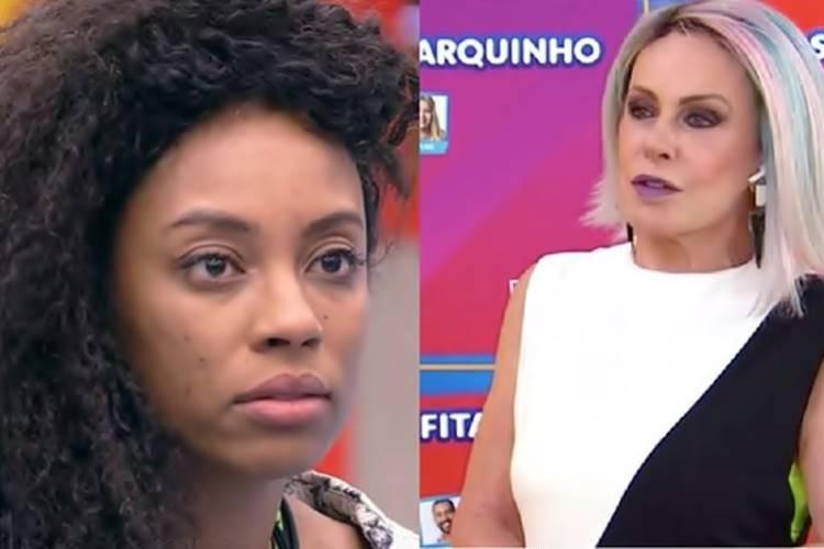 BBB 21: Ana Maria causa polêmica ao citar ''racismo reverso'' para criticar fala de Lumena - Foto: Reprodução/ Rede Globo