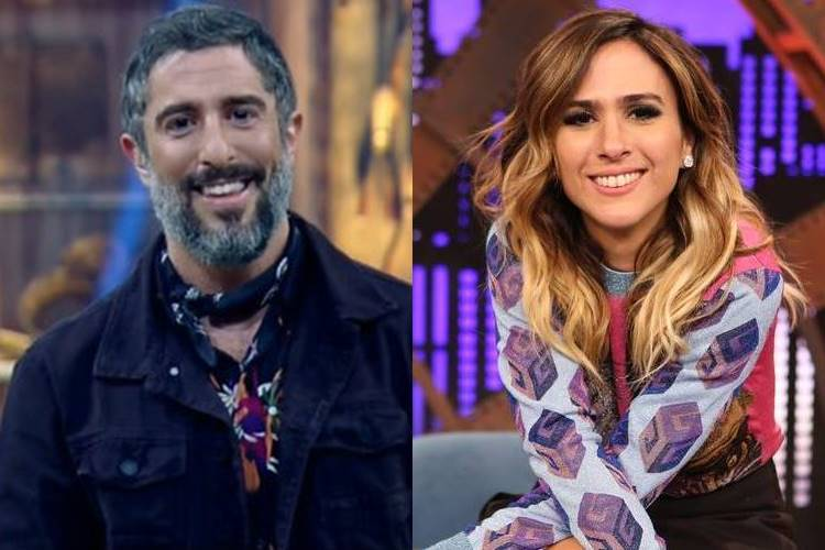 Marcos Mion estreará na Globo com Tatá Werneck, entenda! - Foto: Reprodução/Record e Rede Globo/ Montagem Área VIP