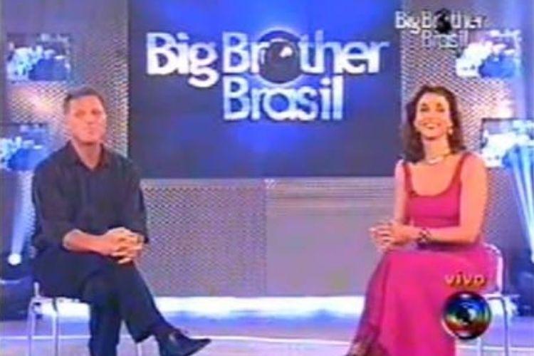Marisa Orth apresentando o BBB - Reprodução: TV Globo