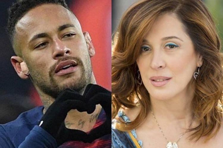 Neymar Jr e Claudia Raia - Reprodução: Instagram