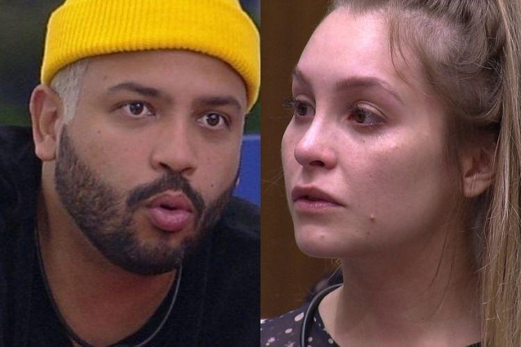 Projota e Carla Diaz - Reprodução: TV Globo