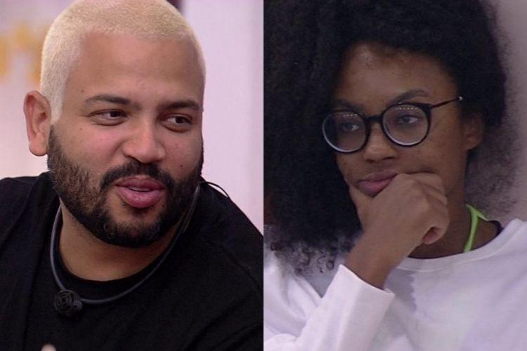 Projota e Lumena - Reprodução: TV Globo