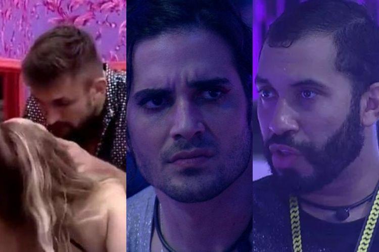 Resumo da festa no 'BBB 21' - Reprodução: TV Globo (Montagem: Área VIP)Resumo da festa no 'BBB 21' - Reprodução: TV Globo (Montagem: Área VIP)