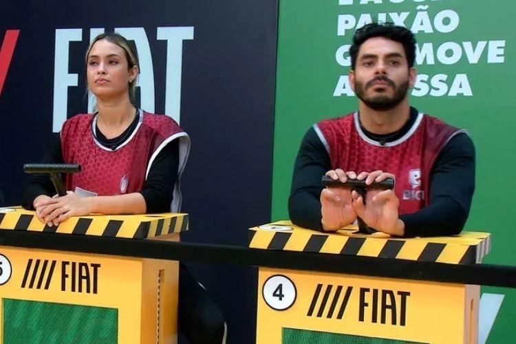 Rodolffo e Sarah - Reprodução: TV Globo