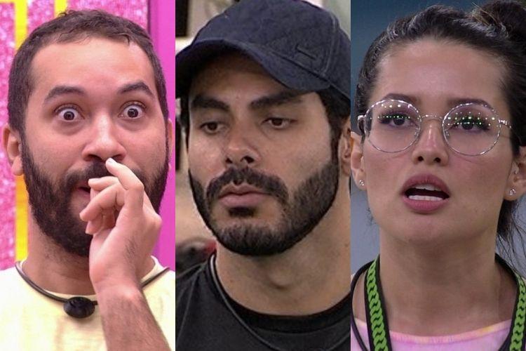 Rodolffo, Gilberto e Juliette - Reprodução: TV Globo
