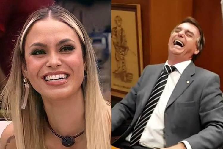 BBB 21: Após Sarah admitir que gosta de Jair Bolsonaro, assessoria de imprensa se posiciona: ''Simpatizar e apoiar tem significados distintos'' - Foto: Reprodução/Rede Globo e YouTube/ Montagem Área VIP
