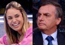 Sarah e Jair Bolsonaro - Reprodução: Instagram