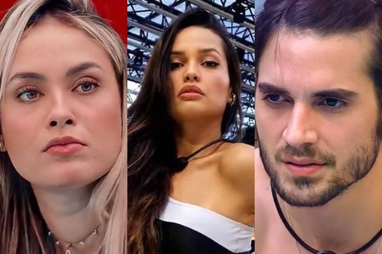 BBB21: Sarah dispara sobre Juliette e Fiuk defende sister - ''Eu acho ela bem inteligente'' - Foto: Reprodução/Rede Globo/ Montagem Área VIP