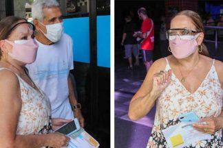 Aos 78 anos de idade, Susana Vieira é vacinada contra a covid-19 no Rio de Janeiro - Foto: Sá Barreto/AgNews