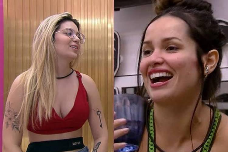 BBB21: Após treta, Viih Tube e Juliette selam as pazes - ''Gosto da nossa relação'' - Foto: Reprodução/ Rede Globo/ Montagem Área VIP