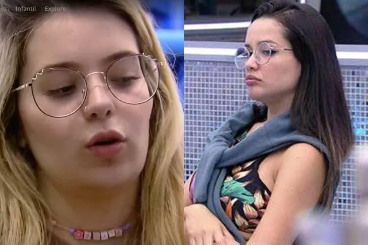 BBB21: Viih Tube afirma estar preocupada com Juliette, pois acredita que sister é alvo dos brothers - Foto: Reprodução/ Rede Globo/ Montagem Área VIP