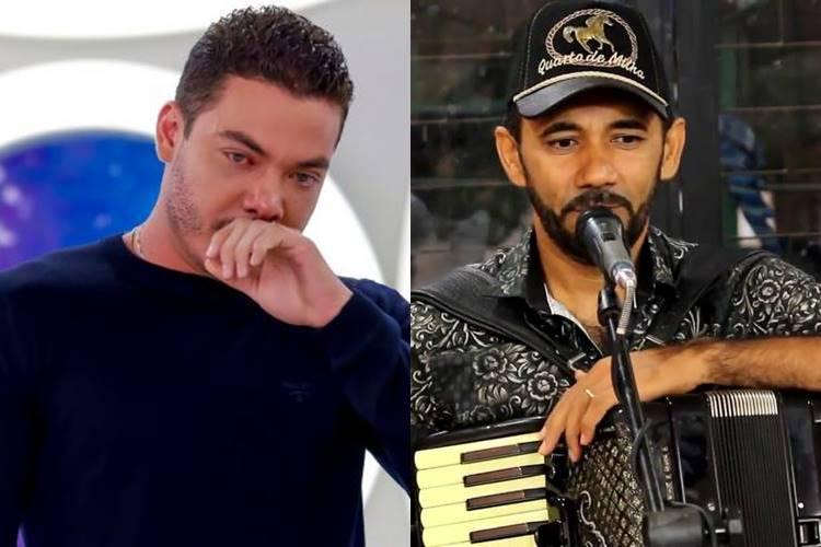 Compositor pede prisão de Wesley Safadão, e alfineta forrozeiro: ''Devia ter vergonha na cara'' - Foto: Reprodução/ SBT e YouTube/ Montagem Área VIP