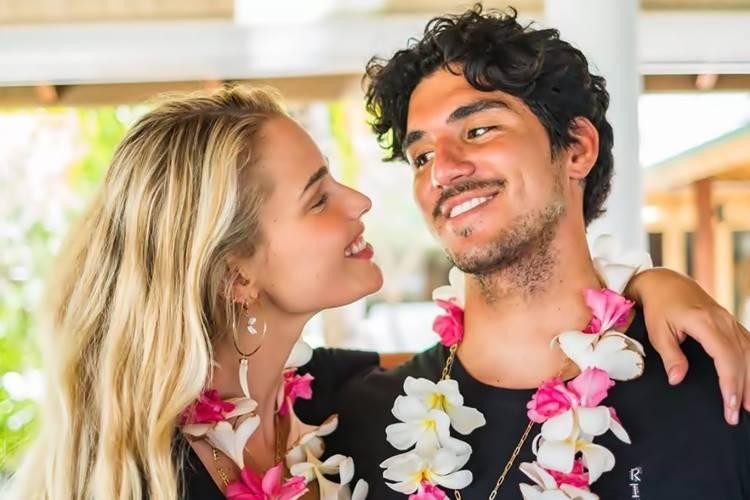 Após casamento no Havaí, Gabriel Medina e Yasmin Brunet celebram um ano juntos - Foto: Reprodução/ Instagram