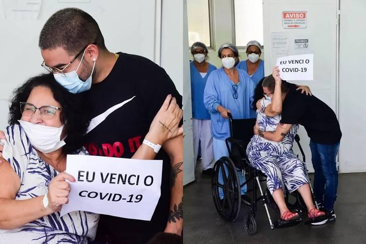 Após internação por Covid-19, mãe de Yudi Tamashiro tem alta hospitalar - Foto:  Leo Franco / AgNews