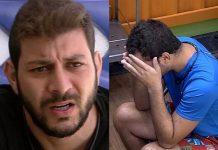 Caio e Gilberto - Reprodução: TV Globo