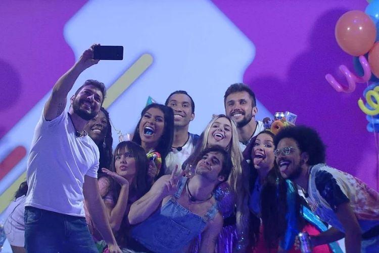 Festa da líder Viih Tube - Reprodução: TV Globo