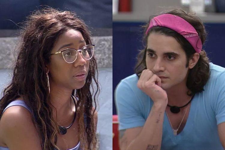 Fiuk e Camilla de Lucas - Reprodução: TV Globo