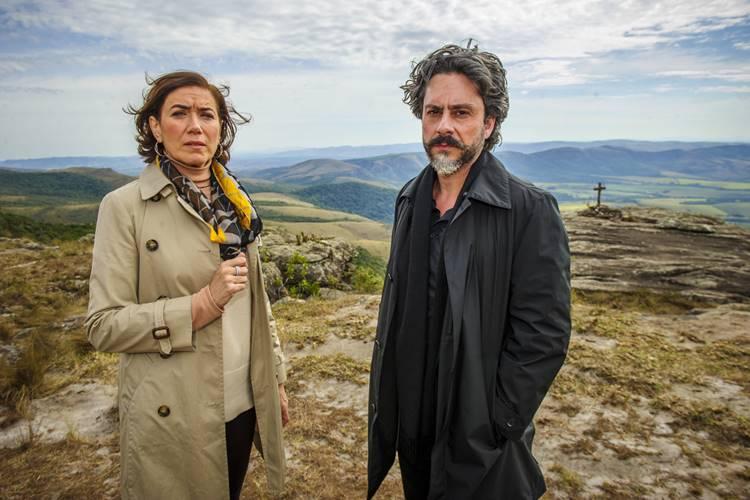 Império - Maria Marta e José Alfredo (Globo/Alex Carvalho)