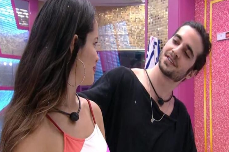 Juliette e Fiuk foto reprodução Globo Play