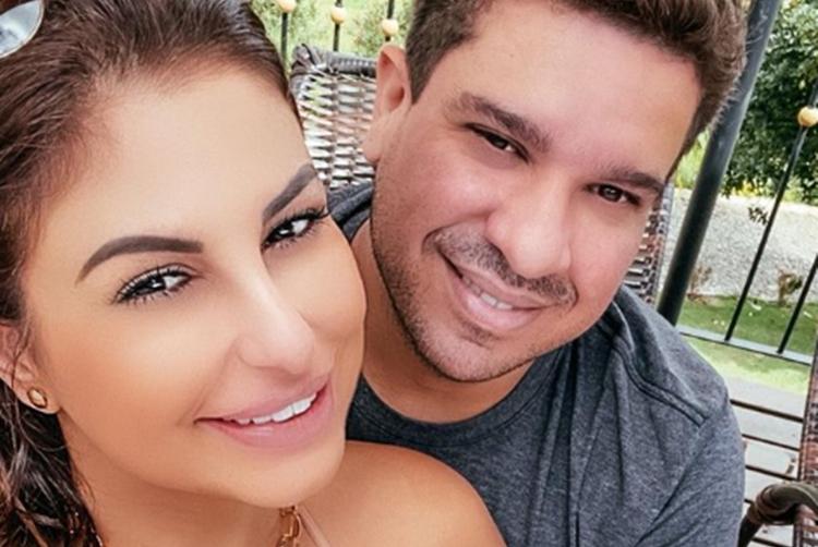 Livvia Bicalho e namorado Rafael Ribeiro foto reprodução Instagram