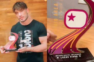 Lucas Viana e o Prêmio Área VIP - Reprodução