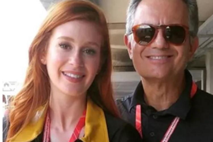 Marina Ruy Barbosa comemora ao ver pai é vacinado contra a Covid-19