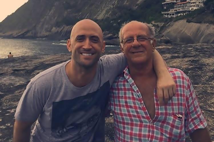 Pai de Paulo Gustavo fala sobre estado de saúde do filho, intubado com Covid-19: ''Árdua e dolorosa luta'' - Foto: Reprodução/ Facebook