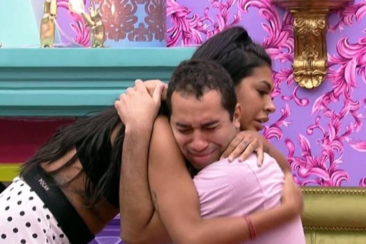 """BBB21: Após liderança de Viih Tube, Gilberto chora por se sentir ameaçado - """"Tô com muito medo"""" - Foto: Reprodução/ Globo"""