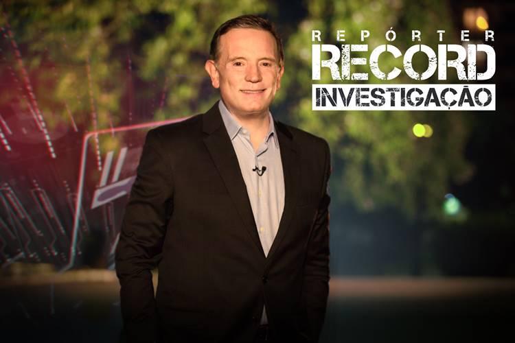 Roberto Cabrini no Repórter Record Investigação (Divulgação/Record TV)
