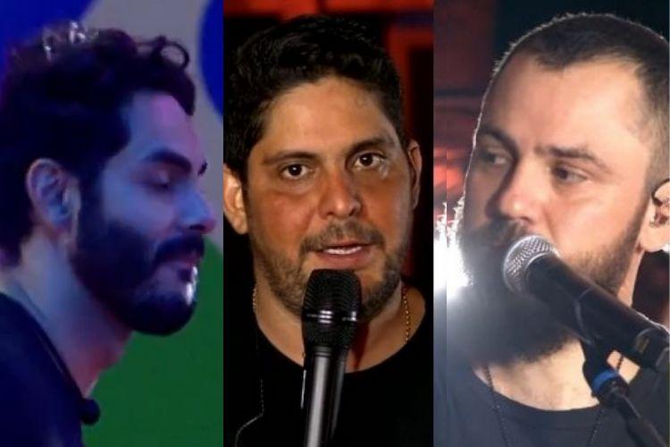 Rodolffo e Jorge e Mateus - Reprodução: TV Globo e YouTube