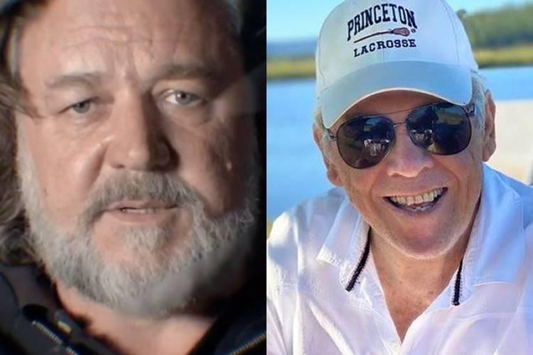 Pai de Russell Crowe morre aos 85 anos e ator desabafa: ''Esta data será para sempre marcada pela tristeza'' - Foto: Reprodução/ Instagram/ Montagem Área VIP
